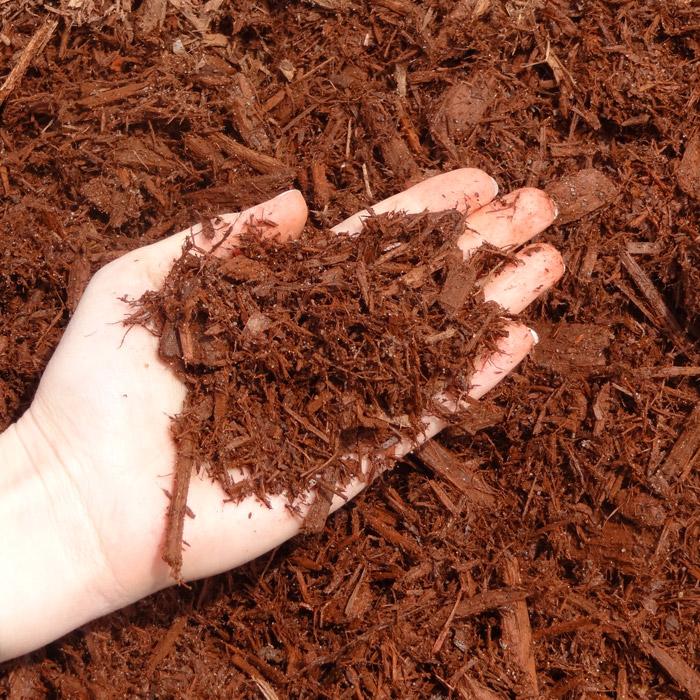 Shredded Red Cedar Mulch